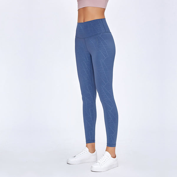 AIR SEAMLESS LEGGINGS - LIGHTNING BLUE - Fit Girls Land