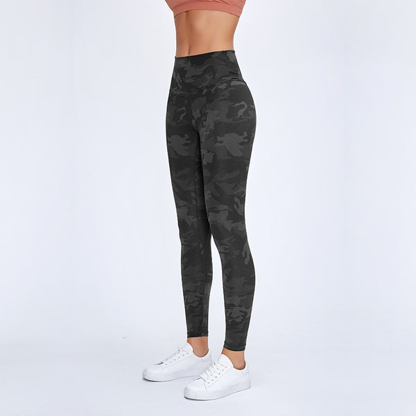 AIR SEAMLESS LEGGINGS - CAMO - Fit Girls Land