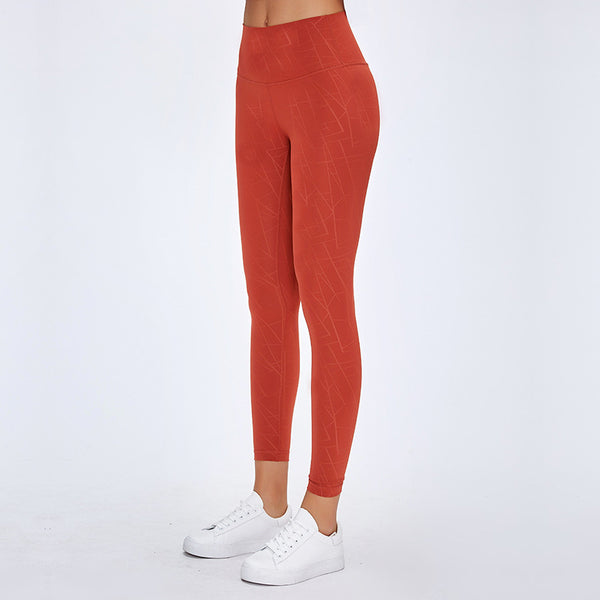 AIR SEAMLESS LEGGINGS - ORANGE - Fit Girls Land