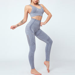 FGL - KRYSTAL SET - LIGHT GREY - Fit Girls Land