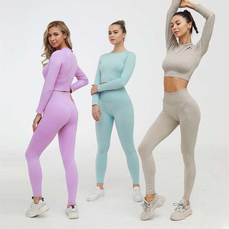 FGL - Yolanda seamless set - Grey - Fit Girls Land