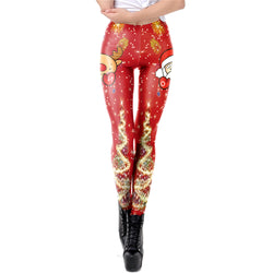 FGL - Natalia Christmas Leggings - Fit Girls Land