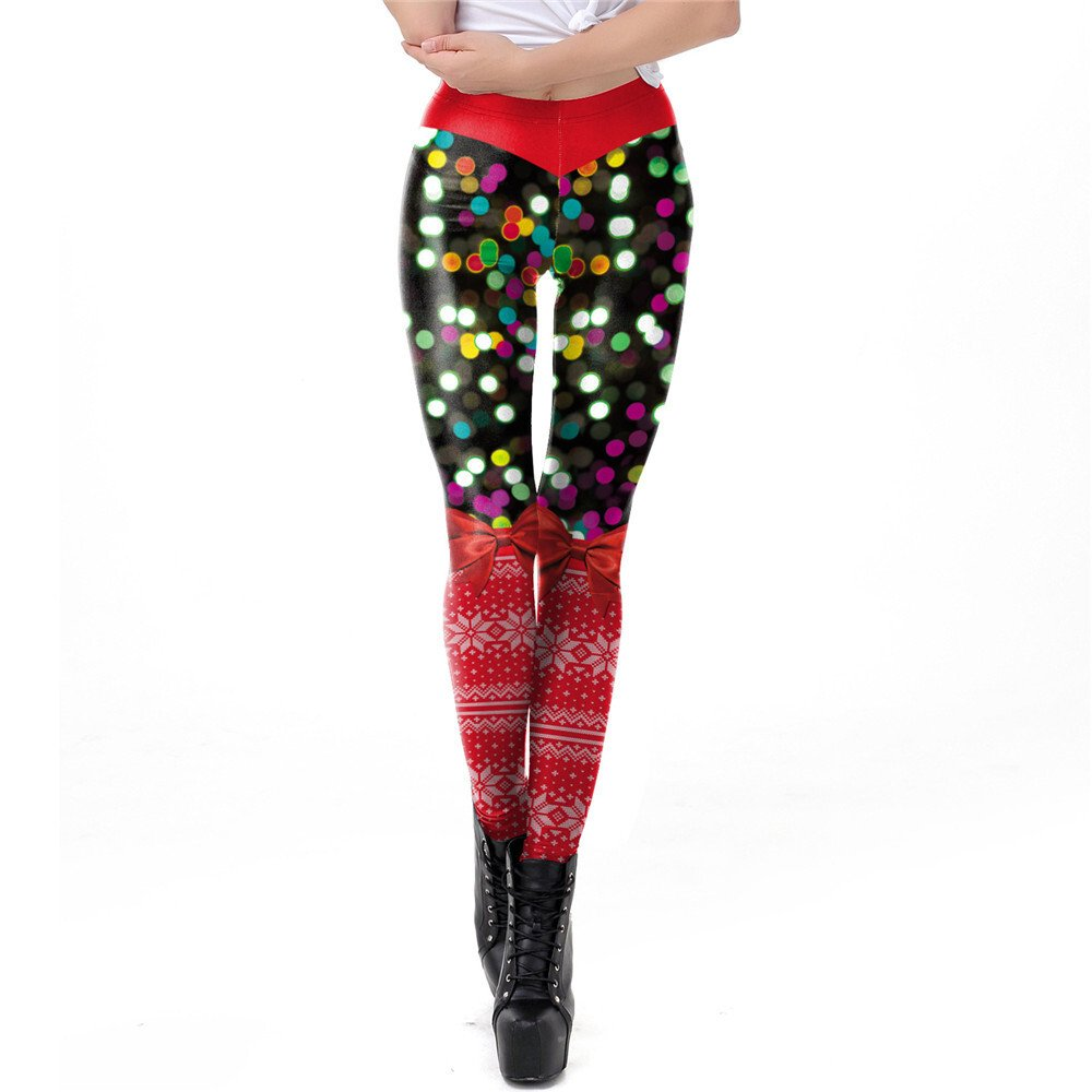 FGL - Whitney Christmas Leggings