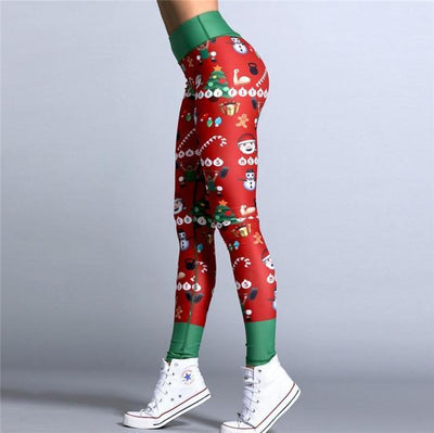 Fit Girls Land Green / L FGL™ - Christmas Leggings