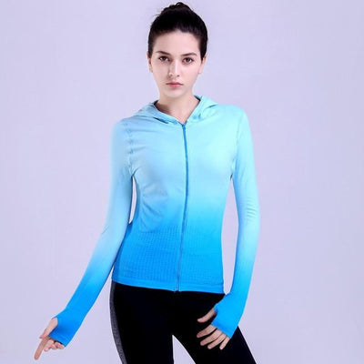 Fit Girls Land jackets deepskyblue / S FGL™ - Zipper Jacket