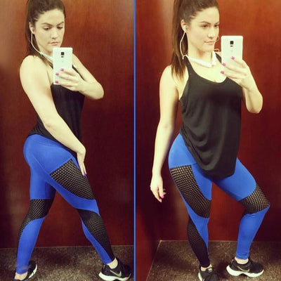 Fit Girls Land leggings Blue / S High Waist Elastic Workout Leggings