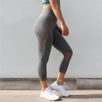 Fit Girls Land leggings Gray / S FGL™ - Mesh Patchwork Leggings