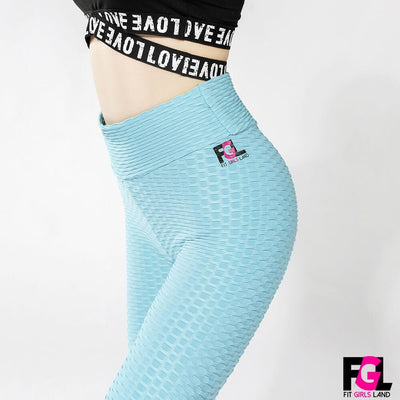 Fit Girls Land leggings lightblue / S FGL™ - Anti Cellulite Leggings