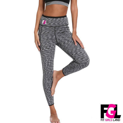 Fit Girls Land leggings Long / L / Grey FGL™ - Sauna Pants