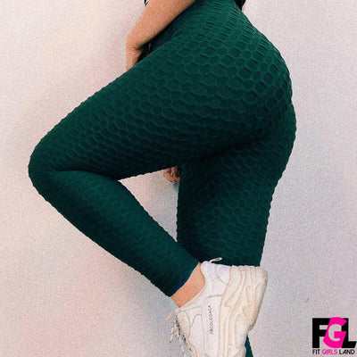 Fit Girls Land leggings seagreen / XS FGL™ - Anti Cellulite Leggings