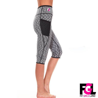 Fit Girls Land leggings Short / L / Grey FGL™ - Sauna Pants
