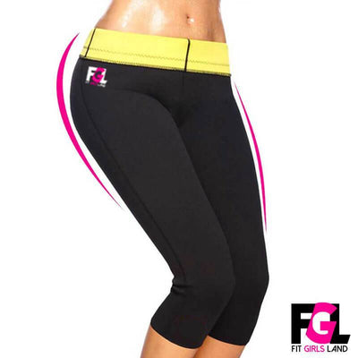 Fit Girls Land leggings Short / S / Black FGL™ - Sauna Pants