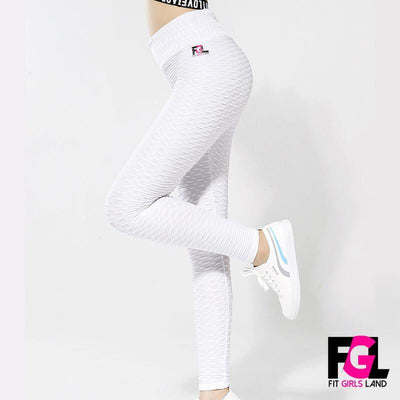 Fit Girls Land leggings White / S FGL™ - Anti Cellulite Leggings