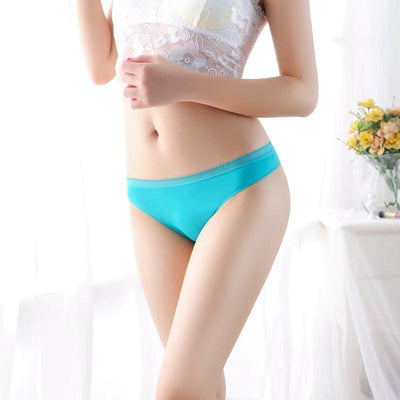 Fit Girls Land Low Waist Seamless Thong