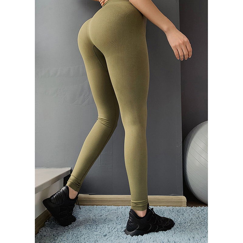 DEFINE SEAMLESS HIGH RISE - ARMY GREEN