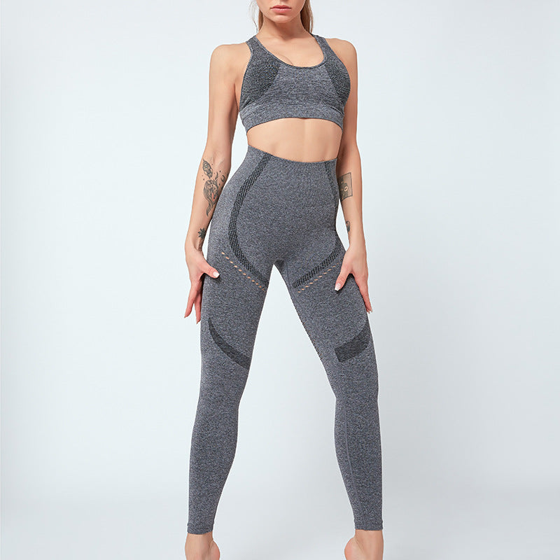 FGL - KRYSTAL SET - GREY - Fit Girls Land