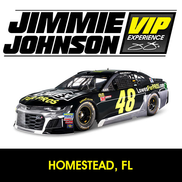 Jimmie Johnson VIP Experience: HOMESTEAD