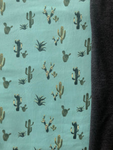XL Mint Cactus/Charcoal Grey