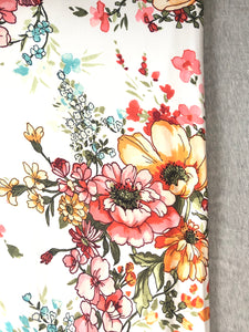 Fun Floral/Heather Grey