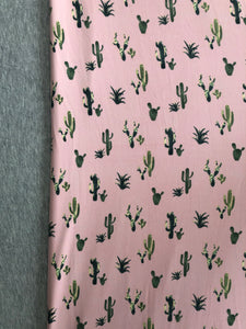 Xtra Large Pink Cactus with Heather Grey