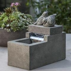 Mini Element With Birds Fountain