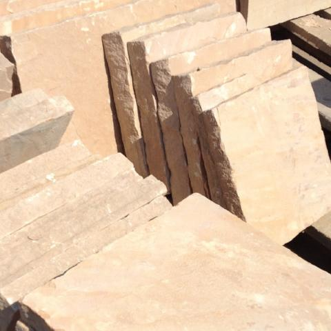 OUTDOOR SEATING AREA/PATIO KIT Sandstone Stone Paver 24x24- 150 SF