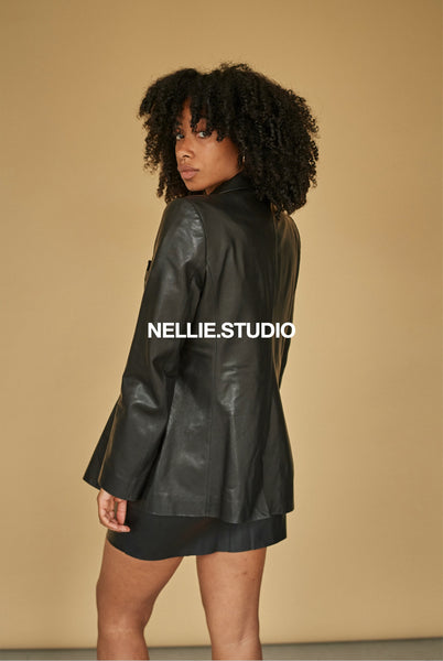 The Classic Nellie Blazer - Black