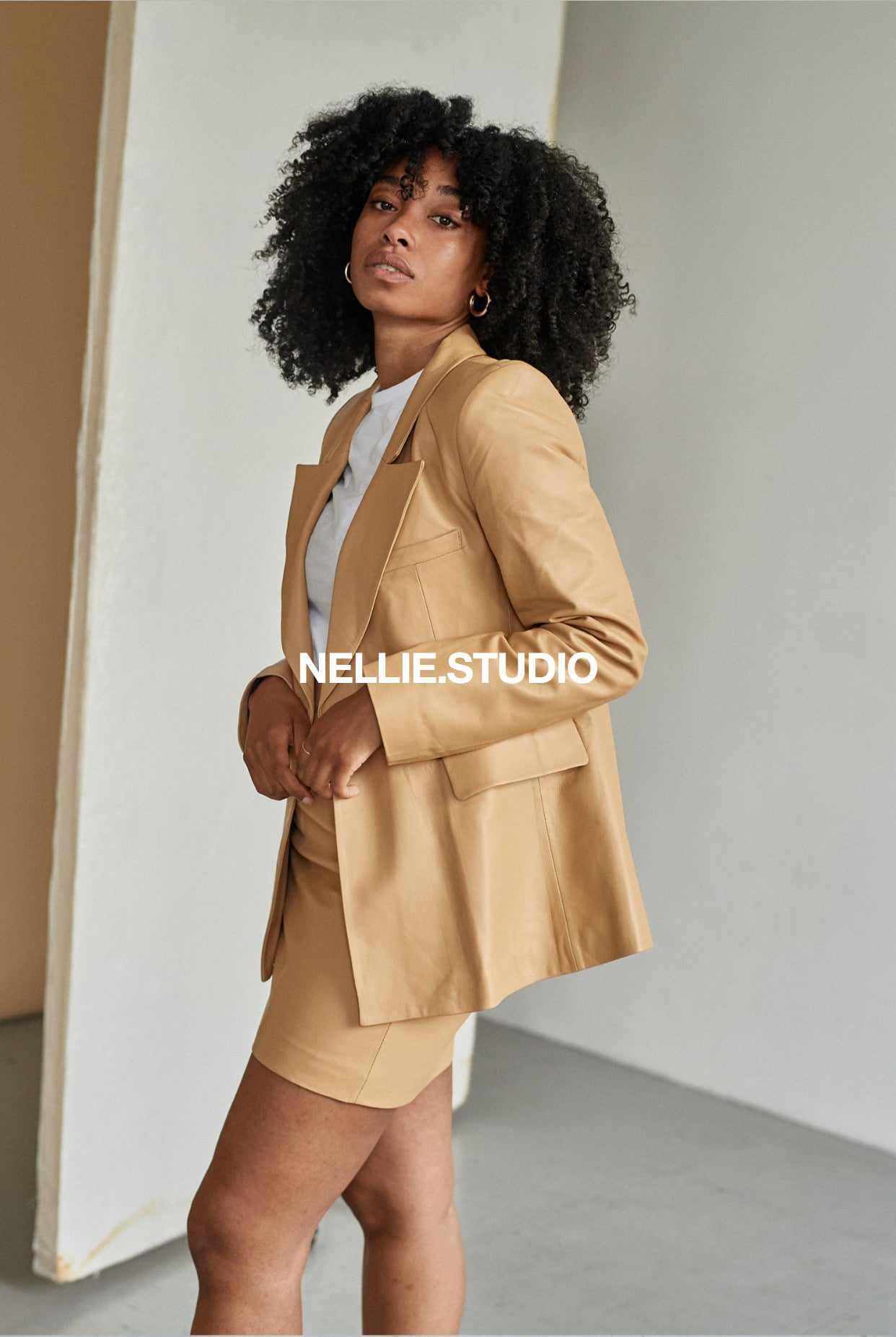 The Classic Nellie Blazer - Caramel