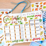 Fall Leaves Monthly Kit