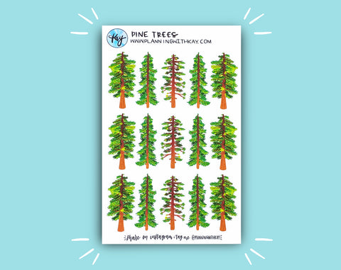 DIGITAL DOWNLOAD Pine Trees