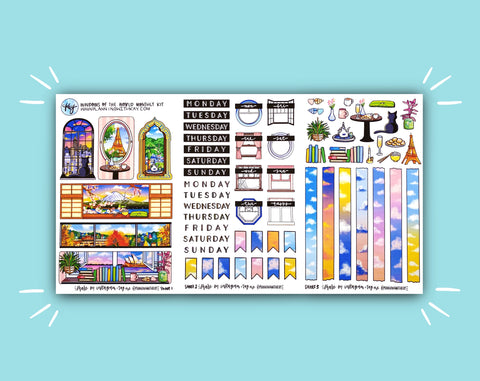 Windows of the World Monthly Kit