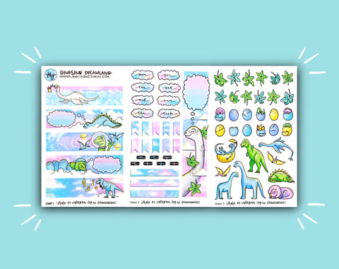 DIGITAL DOWNLOAD Dinosaur Dreamland Monthly Kit