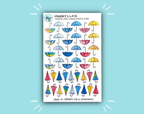DIGITAL DOWNLOAD Umbrellas