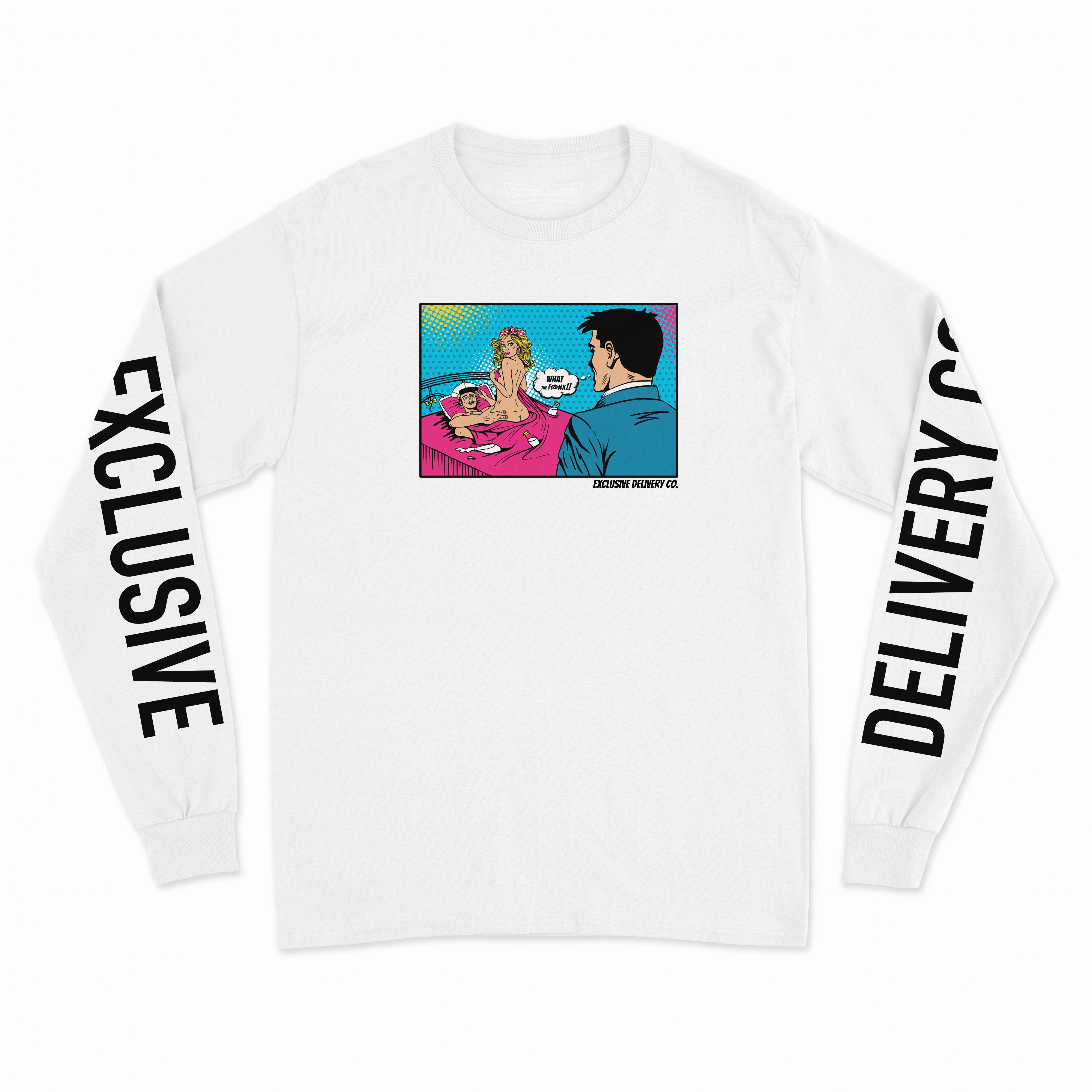 BAD TIMING L/S TEE (WHITE)