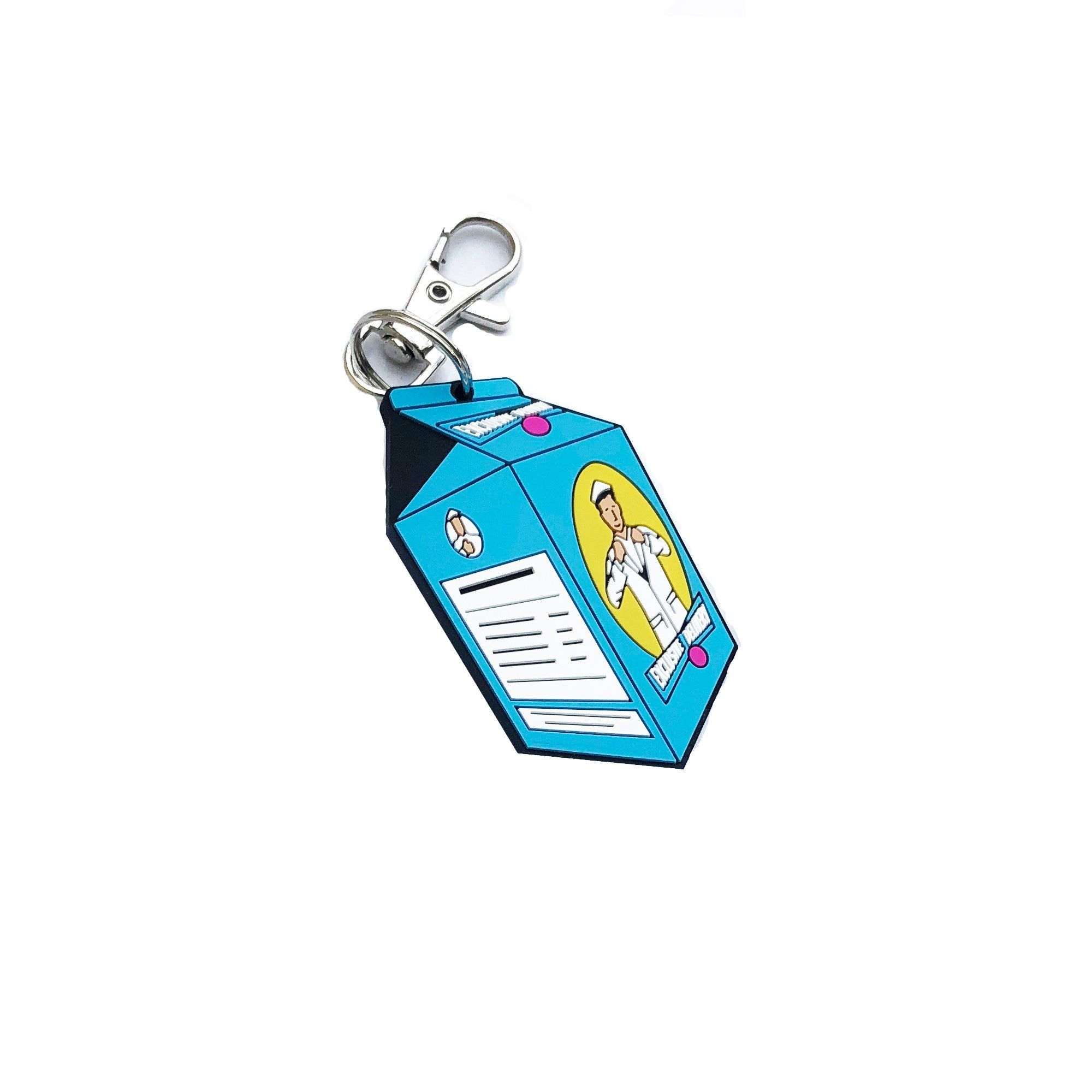 MILK CARTON KEY CHAIN