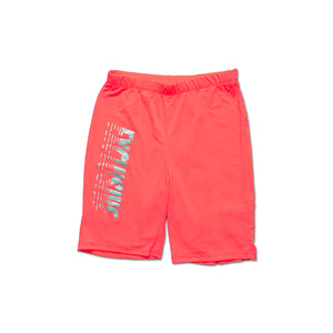 WOMENS EXCLUSIVE BIKER SHORTS (CORAL)