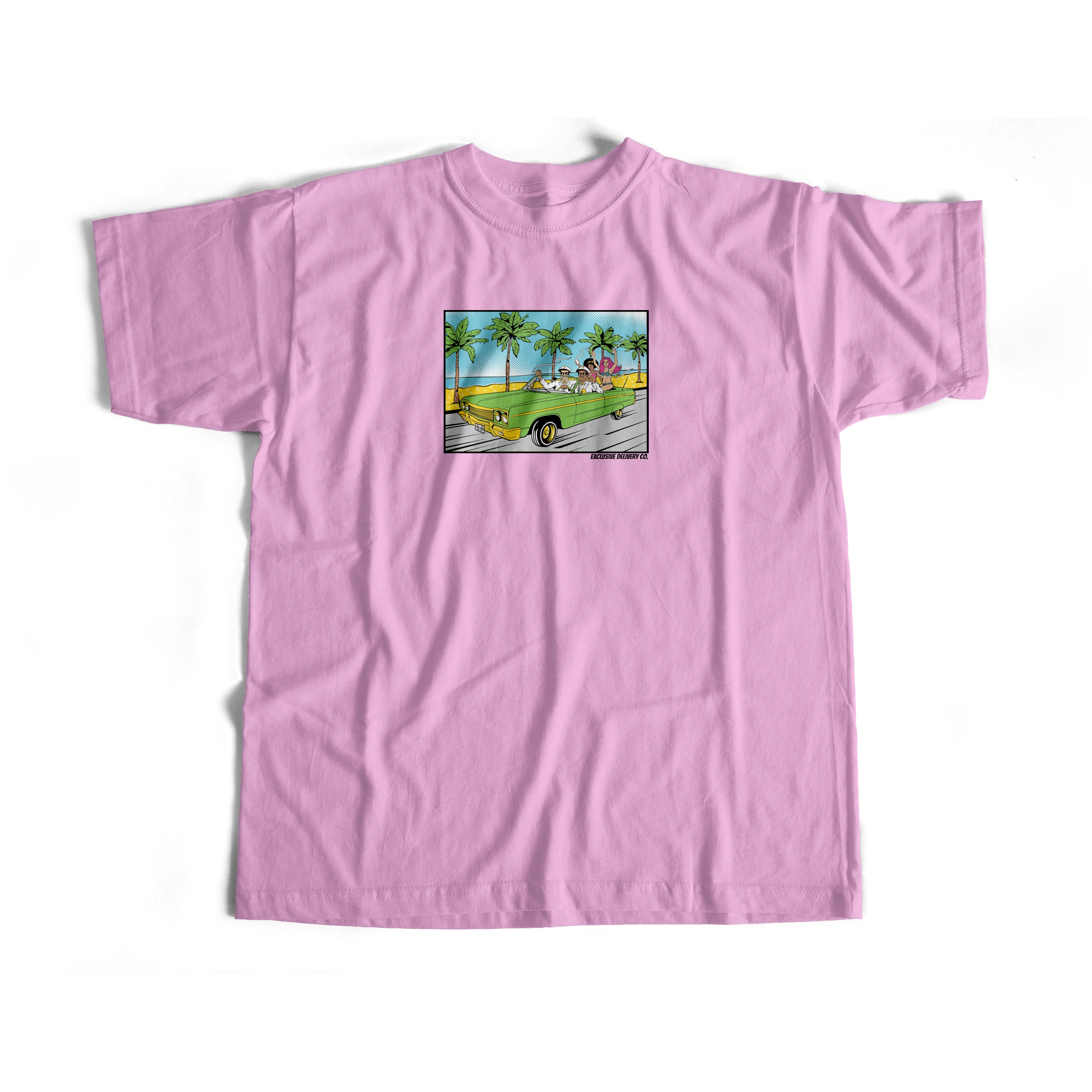 LET ME RIDE S/S TEE (PINK)