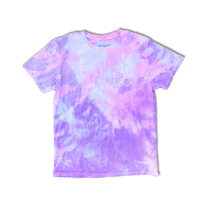MILK BOTTLE LOGO S/S (COTTON CANDY TIE-DYE)