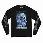 NIGHT OF THE LIVING MILKMEN  L/S TEE (BLACK)