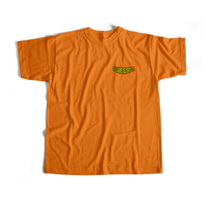 TWO PLEASE S/S TEE (ORANGE)