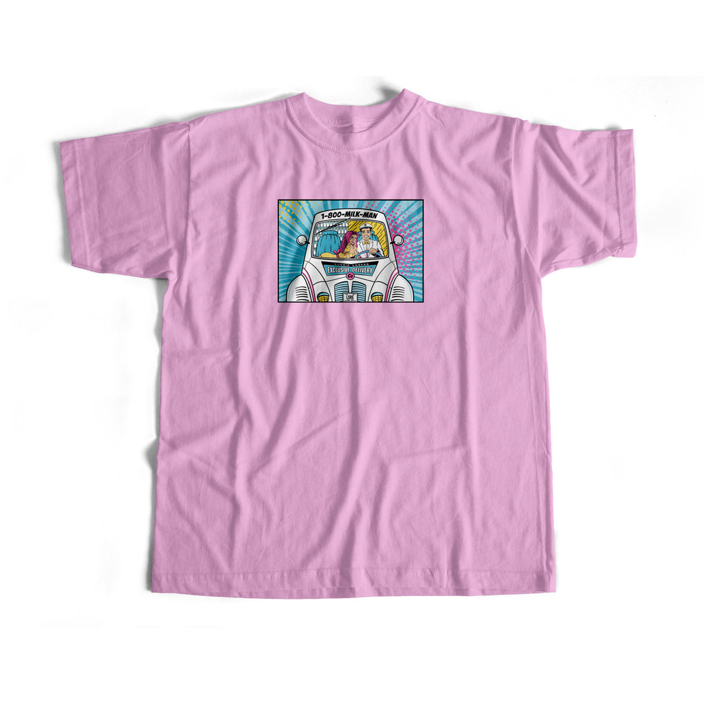 EXCLUSIVE DELIVERY S/S TEE (PINK)