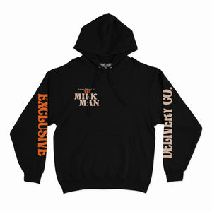 THE MILK MAN HOODIE (BLACK)