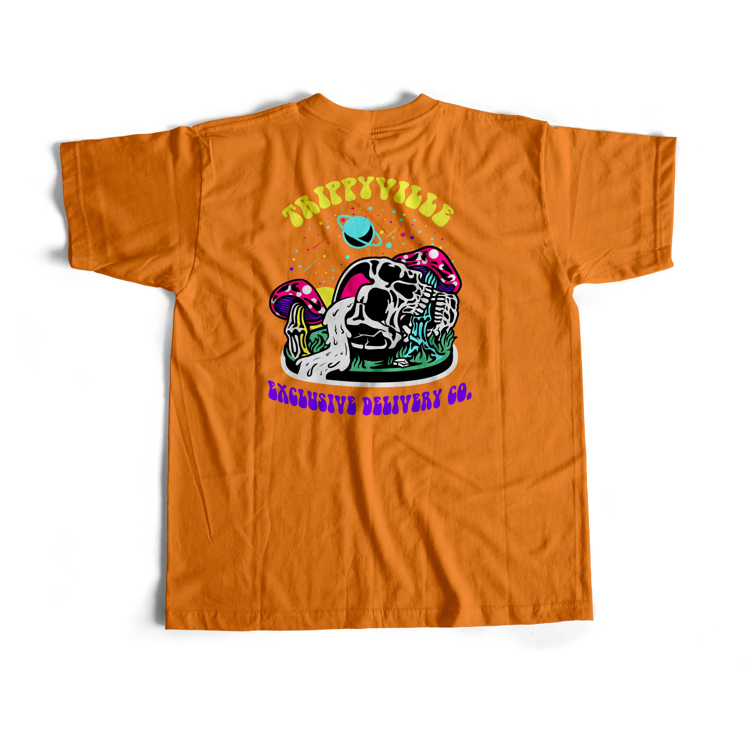 TRIPPYVILLE S/S TEE (ORANGE)