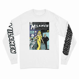 SHE DEVIL L/S TEE (WHITE)