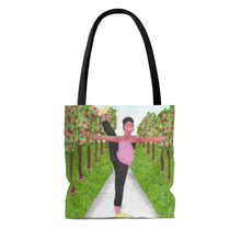 Dancer in the Park Tote Bag