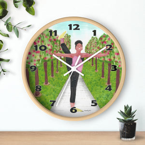 Open image in slideshow, Dancing in the Park Wall Clock