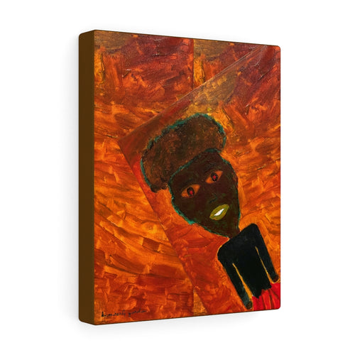 I'm Not Perfect But I'm Woke (Canvas Print)