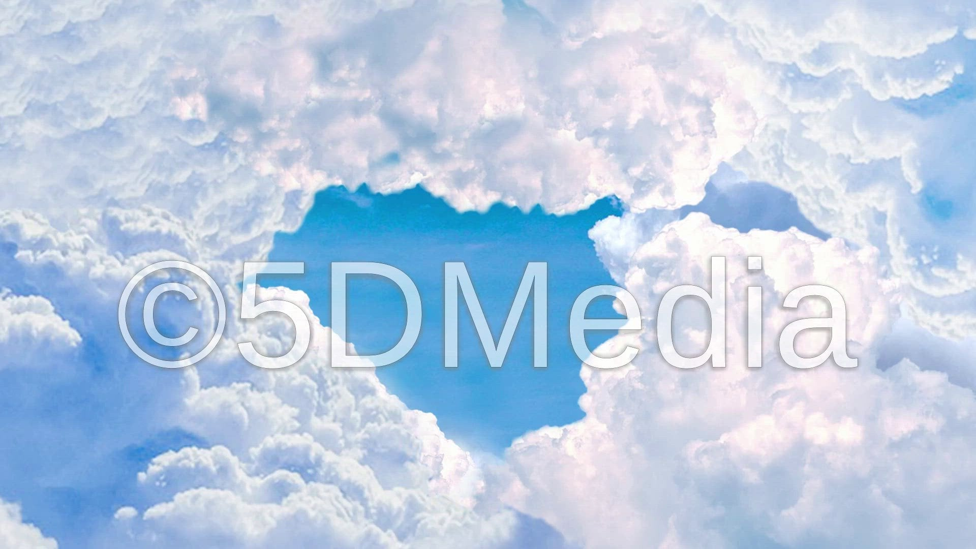 Moving Sky Intro Video Asset - 1920 x 1080 instant download