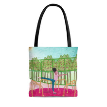 Arabesque Go Round at the Park Tote Bag