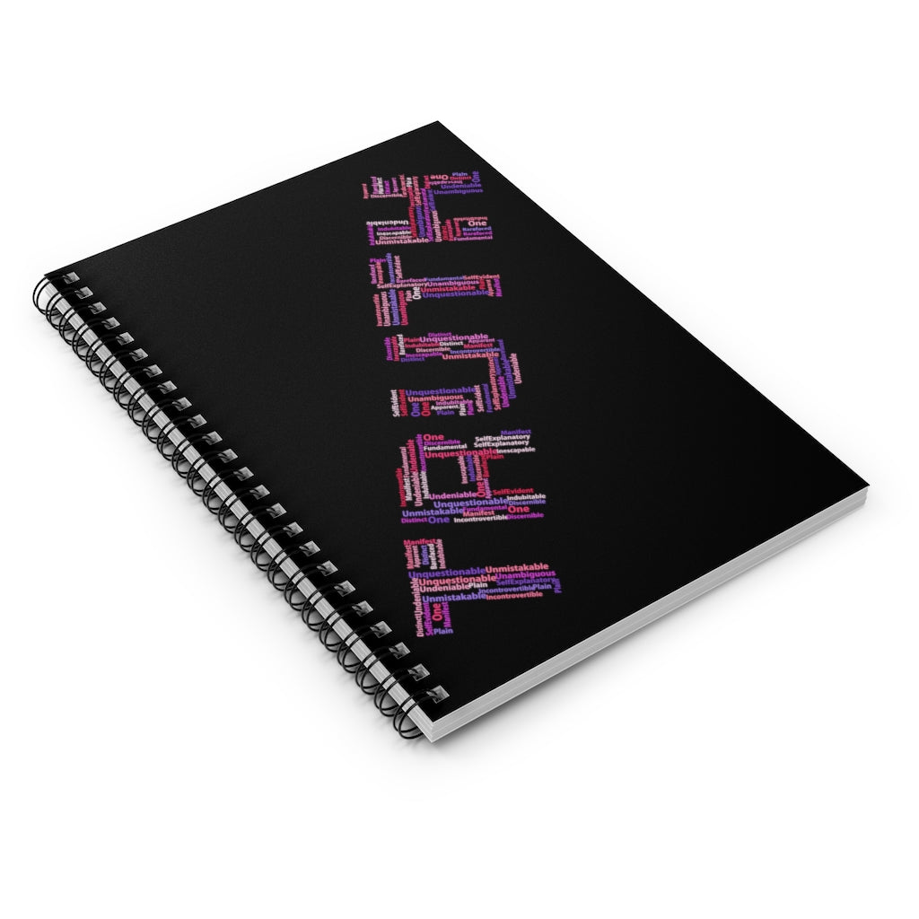 TRUTH Spiral Notebook - Ruled Line
